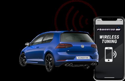 Powertap Air Wireless Car Tuning